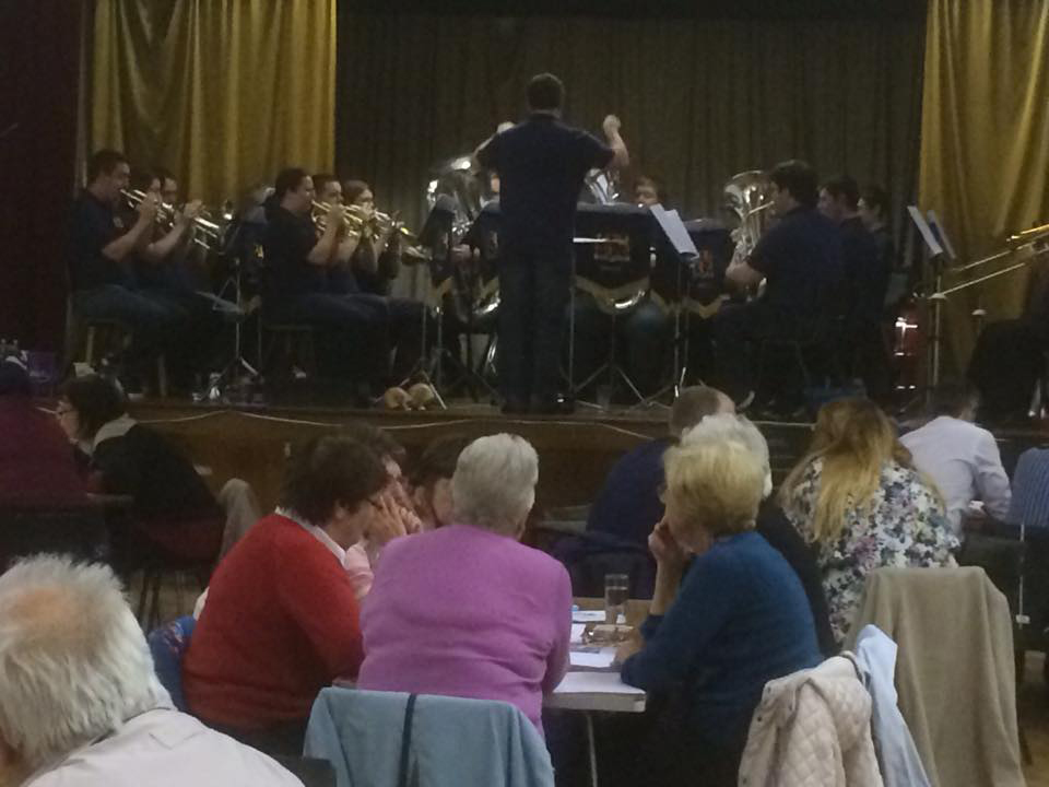 Live brass band hire